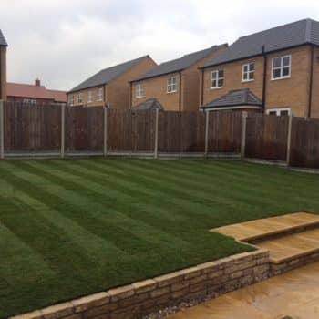 fresh garden turf